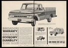 1962 Ford F-100 chassis cab 4wd pickup truck Econoline van F-600 trade ad