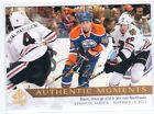 2012-13 SP Authentic Moments #158 Jordan Eberle Gold Auto Autograph