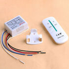 New 220V Wireless ON/OFF 2 Ways Lamp Remote Control Switch Receiver Transmitter