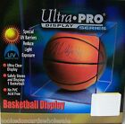1 Case (4) Ultra Pro UV Safe Basketball Square Cube Holders Acrylic Display