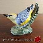 Colorful Vintage Stangl Pottery Nuthatch Bird Figurine #3593