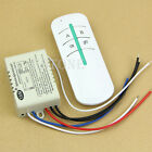 Hot 220V Wireless ON/OFF 2 Ways Lamp Remote Control Switch Receiver Transmitter