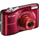 Nikon Coolpix L30 HD VR Digital Camera Red USA