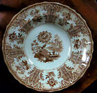 ANTIQUE EARLY ENGLISH STAFFORDSHIRE POTTERY TRANSFER PLATE 1800s Eastern Sketche