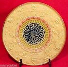 Ornate Antique German Majolica Plate Zell c.1907-1928, gm547