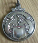 1919 SOLID STERLING SILVER FOOTBALL FOB MEDAL