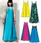 McCALL'S M6555 MISSES' & MATERNITY BOHO MUMU CAFTAN DRESS PATTERN PLUS SIZE 8-16