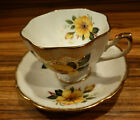 Excellent vintage English porcelain tea cup and saucer set,  PRINCESS ANNE
