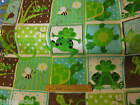 G for Green Patty Reed Design fabric frog turtle patchwork quilting 3 yd lizard