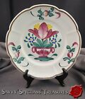 Faience France Desvres Geo Martel French Tulip Decorative Plate
