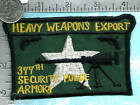 USAF patch - 377th Security Police Squadron - Heavy Weapons