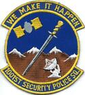 PATCH USAF    1001st SECURITY POLICE SQUADRON