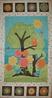 A MODA BY SANDY GERVAIS FROLIC COTTON QUILTING FABRIC PANEL