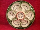 Antique French Majolica Oyster Plate Salins c.1800's, op232