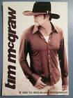Vtg 1999 Sexy Young Man Cowboy Tim McGraw Country Singer Photo Vending Sticker