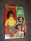 Vintage Lester Eegee Ventriloquist Dummy Doll African-American Puppet W/ BOX