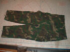 1981 propper US ARMY hot weather RIPSTOP POPLIN COMBAT PANTS ERDL camo TROUSERS