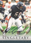 Mike Singletary 2000 Upper Deck NFL Legends Signature Auto graph