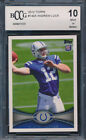 2012 Topps #140A Andrew Luck Rookie Graded BCCG 10