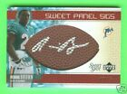 RONNIE BROWN 2005 05 SWEET PANEL SIGS BALL RC AUTO 15 AUTOGRAPH SP