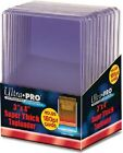 250 Ultra Pro 180pt 3x4 Super Thick Toploaders Brand New top loaders Patch