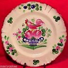 ANTIQUE FRENCH ST.CLEMENT LUNEVILLE FAIENCE PLATE c1800