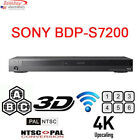 Sony BDP-S7200 Region Free DVD and Region A Blu-Ray Disc Player- 4K upscalling