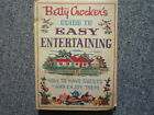 VINTAGE BETTY CROCKER'S GUIDE TO EASY ENTERTAINING 1959 1st EDITION SPIRAL HB