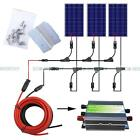 300Watts Complete Kit3100W Photovoltaic PV Solar Panel for 12V Boat Power dd