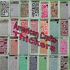American Crafts Scrapbooking Thickers Stickers Accents Chipboard Shapes Letters