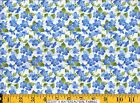 Moda Fabric ~ SUMMER BREEZE ~ French Country Blue Posey Posies