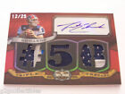 Trent Edwards 2009 Topps TRIPLE THREADS Autograph Jersey Relic S N 12 25