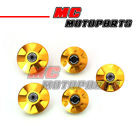 Gold CNC Billet Frame Plugs Kit For Ducati 748 S / R / SP 1997-2002 98 99 00 01