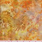 Robert Kaufman Batik Posies 3 14327 194 Fiesta Orange Carnations By the Yard