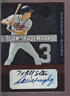 2004 Leaf Limited Team Trademarks Jersey Autograph Auto Dale Murphy 100 Braves