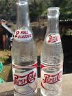 PEPSI:COLA Early Double Dot 12 Oz ACL/embossed Redding California Joliet,ill.