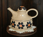 Vintage 1930's Hand Decorated Rosanna Art Pottery Teapot.. Zell Germany