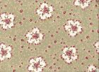 RJR Robyn Pandolph HOPE COVE Fabric ~Natural 92-2 Nosegay Rose