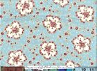 RJR Robyn Pandolph HOPE COVE Fabric ~Blue 92-3 Nosegay Rose Floral