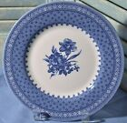Churchill Salad Plate Out of the Blue Made In England Floral
