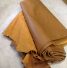R13 Leather Cow Hide Cowhide Upholstery Craft Fabric Warm Mocha Brown 63 sq ft