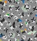 Mr Monopoly Quilt Fabric 1 yard end of bolt Mr Monopoly #6