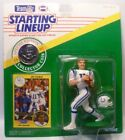 1991  JEFF GEORGE - Starting Lineup - SLU - Figure/Card/Coin -INDIANAPOLIS COLTS