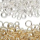 Lot Of 1400 Assorted Size Gauge Open Round Jumpring Jewelry Ring Findings