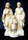 G. Ruggeri Alabaster Sculpture of Mary, Jesus as a Boy and Joseph