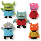UGLYDOLL  - GUND - STAR TREK - KIRK - SPOCK - MCCOY -SCOTTY - UHURA - SET OF 5