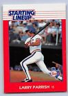 1988  LARRY PARRISH - Kenner Starting Lineup Card - TEXAS RANGERS