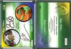 2011 Ace Authentic Match Point 2 Dual Autographs #DCFN ROGER FEDERER NADAL 25