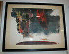 Framed Matted Signed Original Asian Watercolor Painting 26