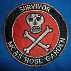 CHEESECLOTH PATCH - V.475 - 1972 SURVIVOR - ROSE GARDEN, Vietnam War - USMC MCAS